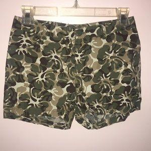 ARMY COLORED SHORTS